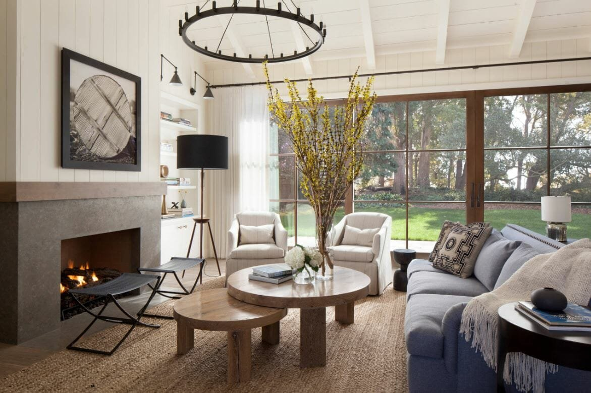 farmhouse living room design ideas