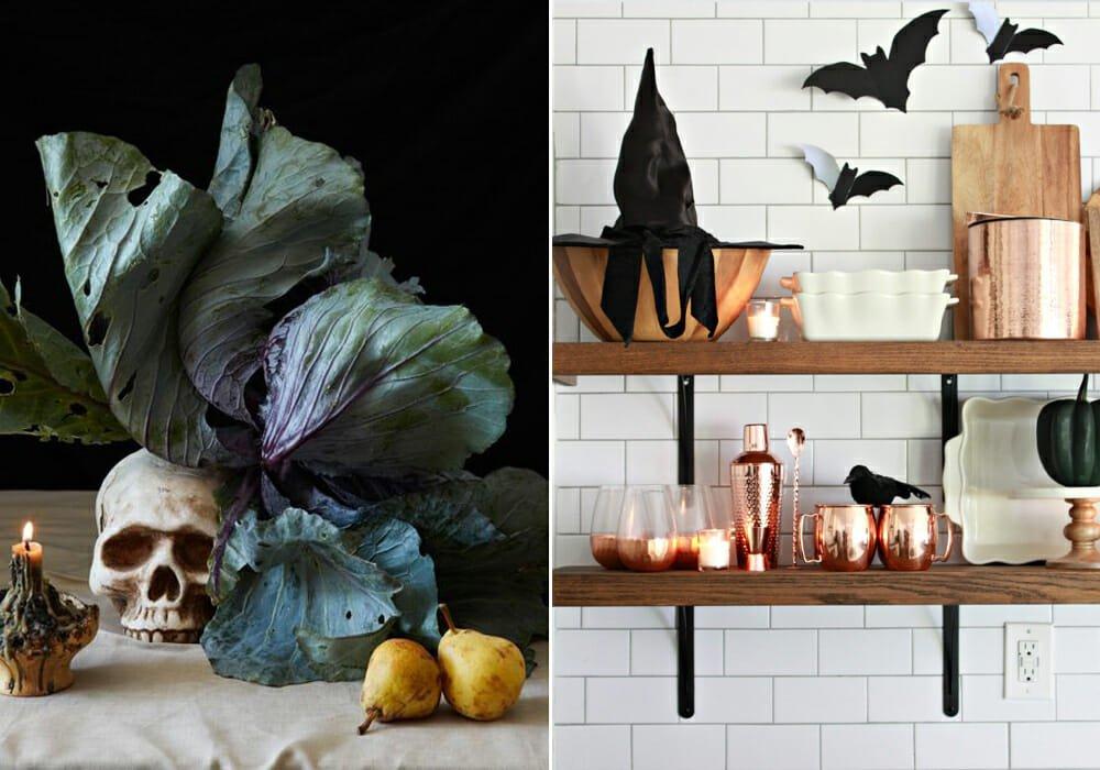 halloween decoration ideas in the kitchen