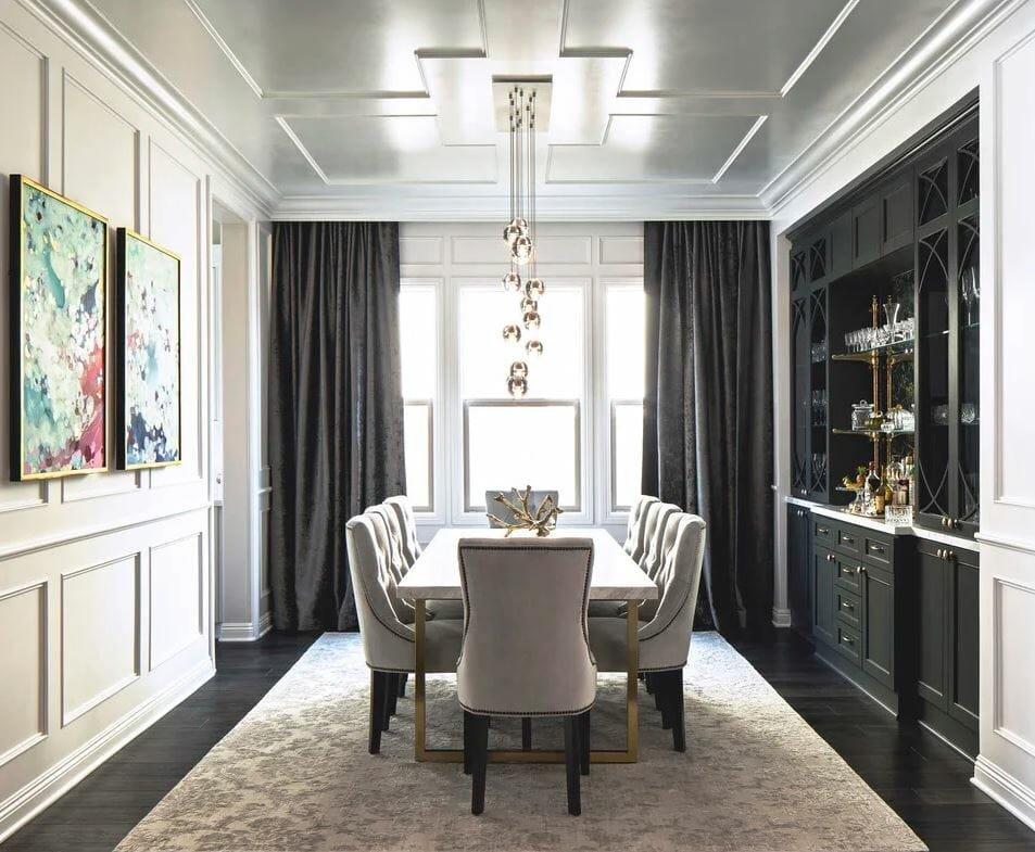 homepolish closed - decorilla dining room design