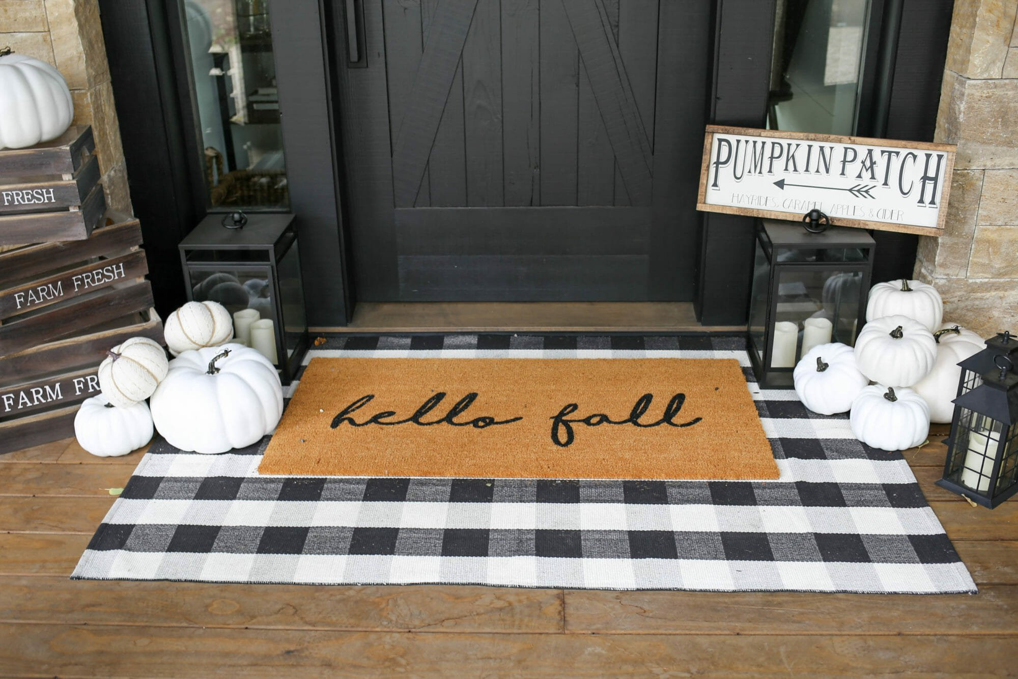 thanksgiving decorations 2019 - fall front porch