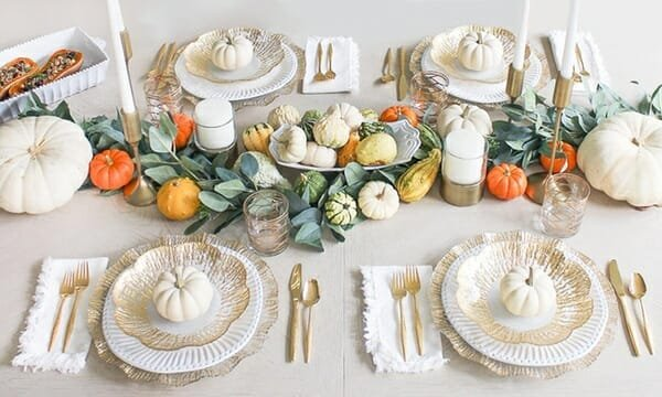 thanksgiving decorations 2019 - neutral