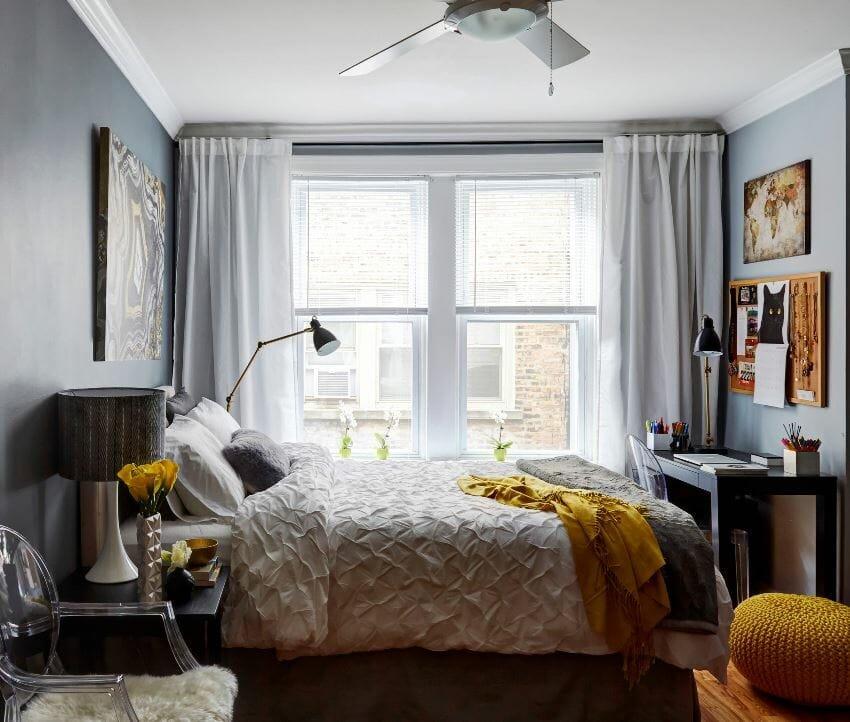 studio apartment color palette ideas