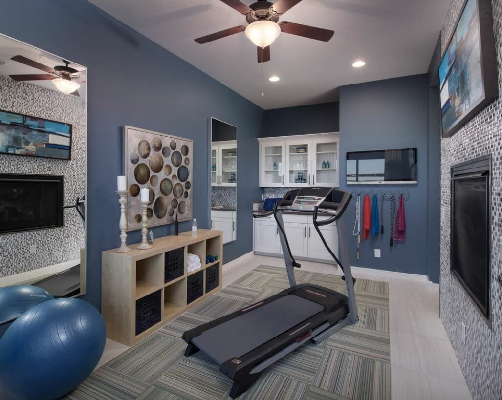 home gym design ideas 2020 trend