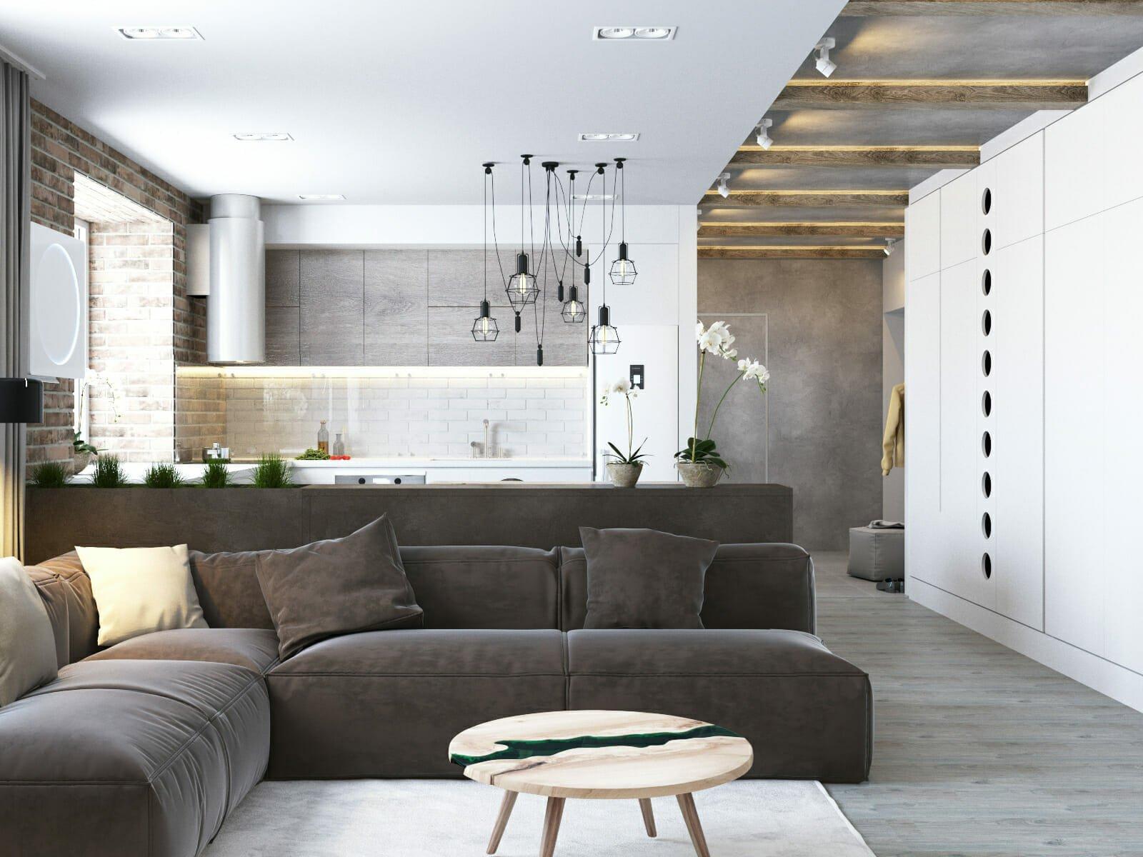 industrial interior design decorilla rendering