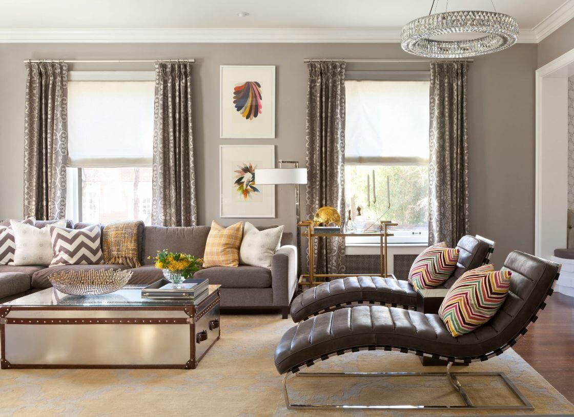 interior design trends 2020 mixing metals