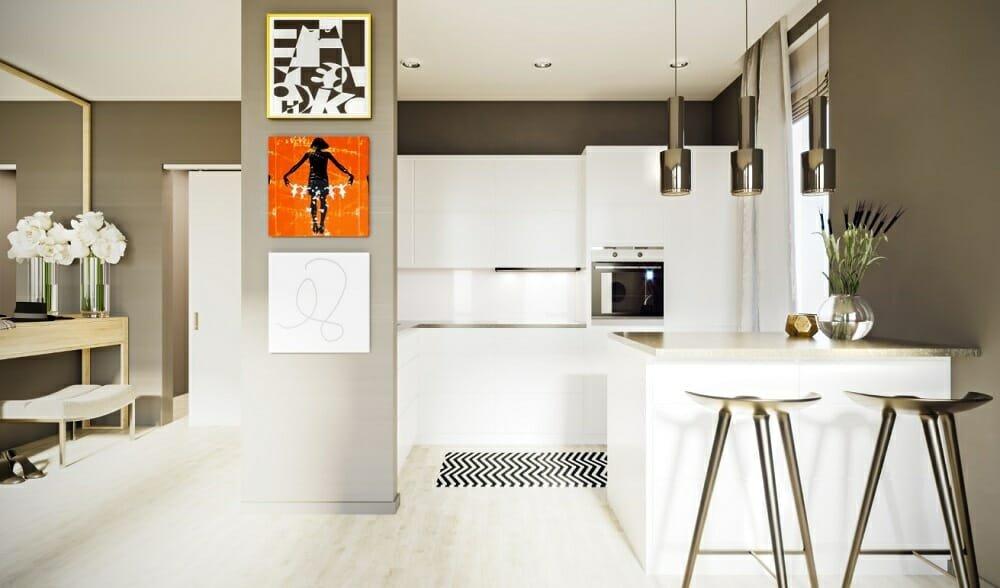 Contemporary studio design