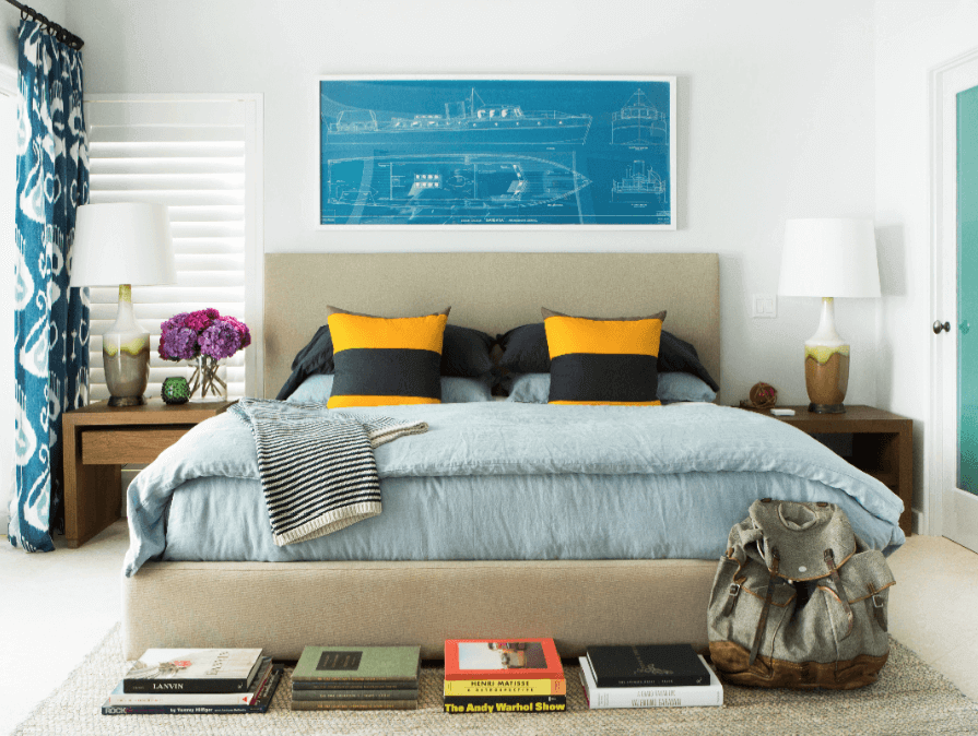 LA Bedroom Interior Design - Ryan White