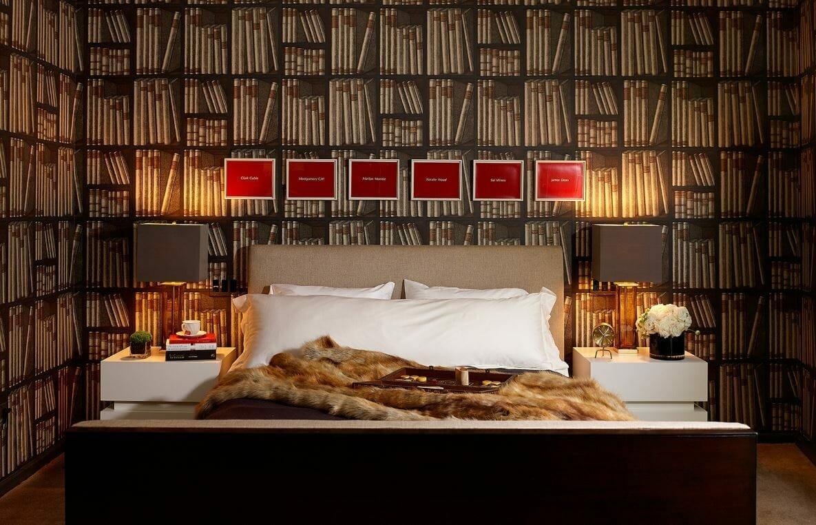 Los Angeles bedroom interior design