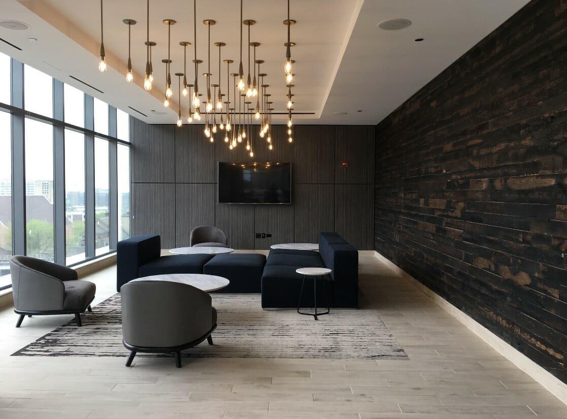 Minimal contemporary interior