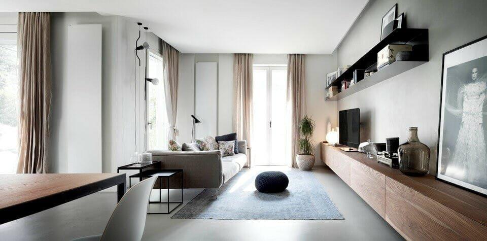 Modern interior design ideas in grey