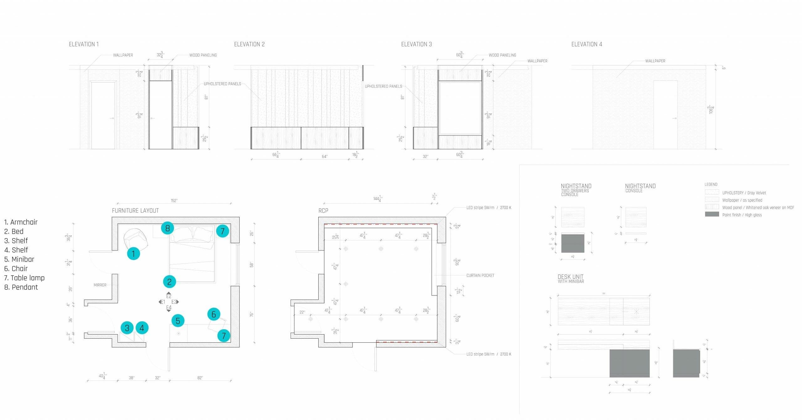 bedroom design online floor plan - decorilla