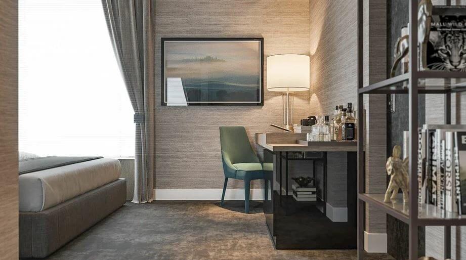 bedroom design online seating area