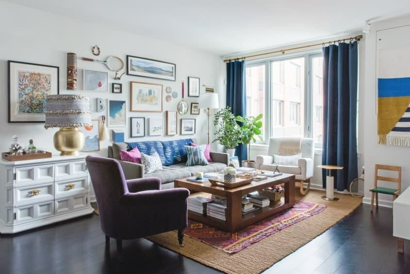 Eclectic Home Decor NYC Designer Apartment