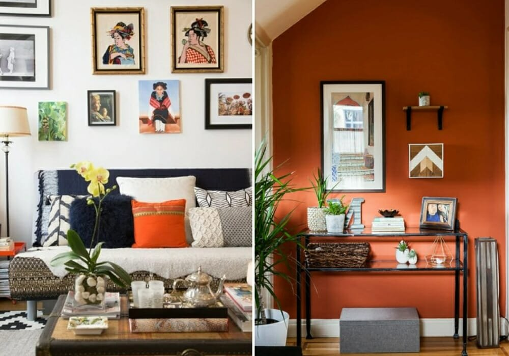 Eclectic New York City wall decor