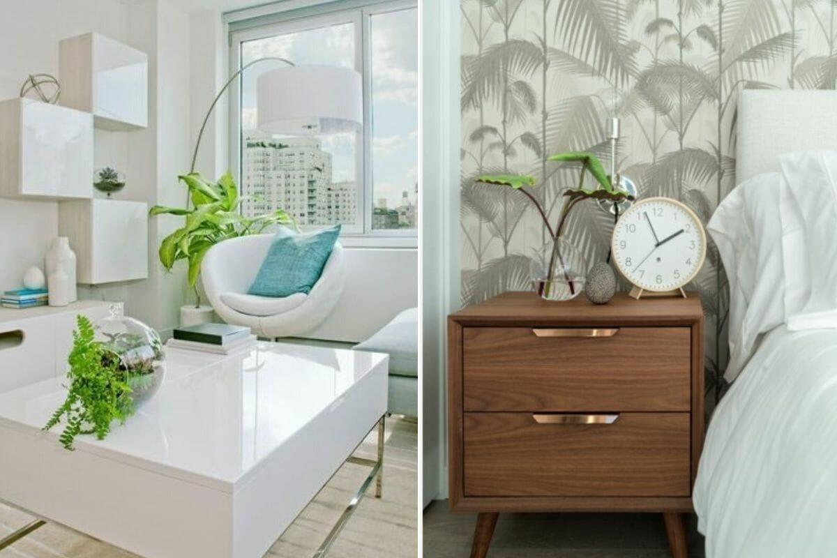 Relaxing home decorating ideas with plants