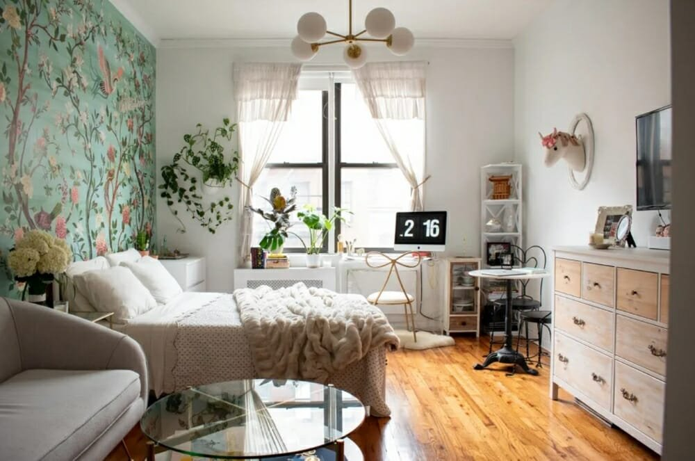 Small eclectic home near the best home decor stores in NYC