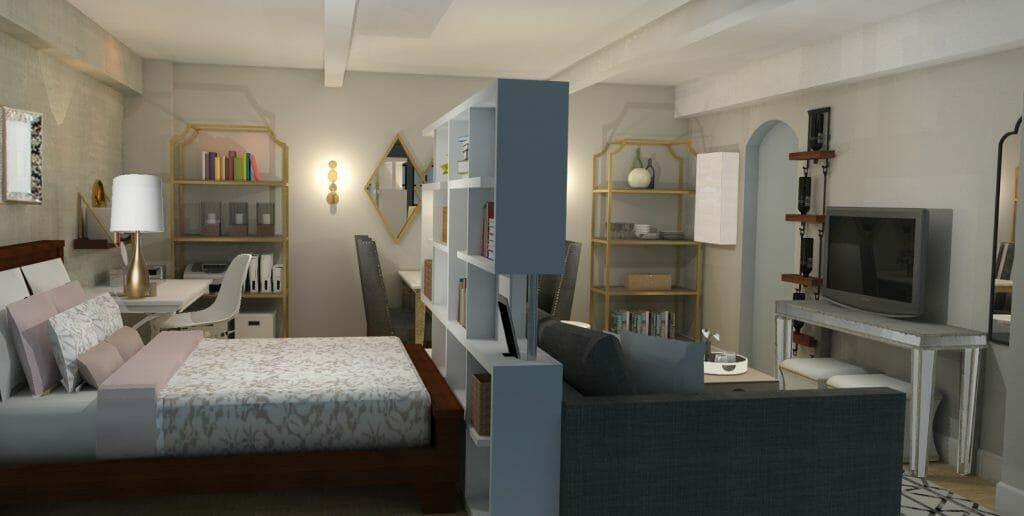 Micro apartments NYC layouts