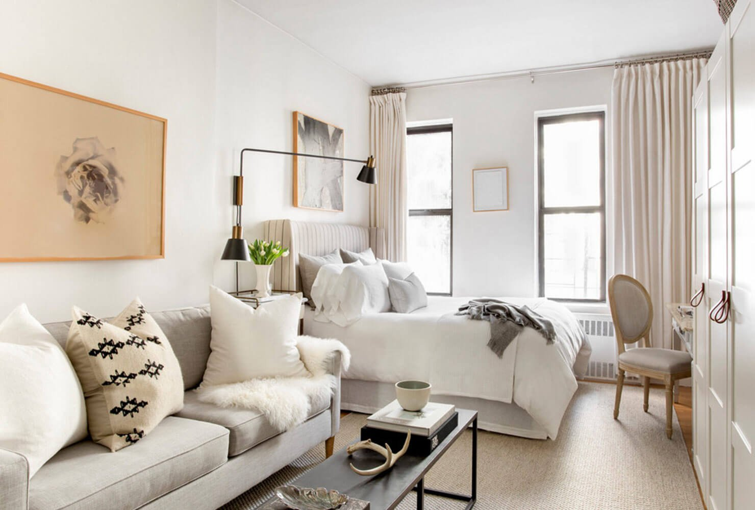Tiny New York Apartments 6 Tiny Studio Apartment Decorating Ideas