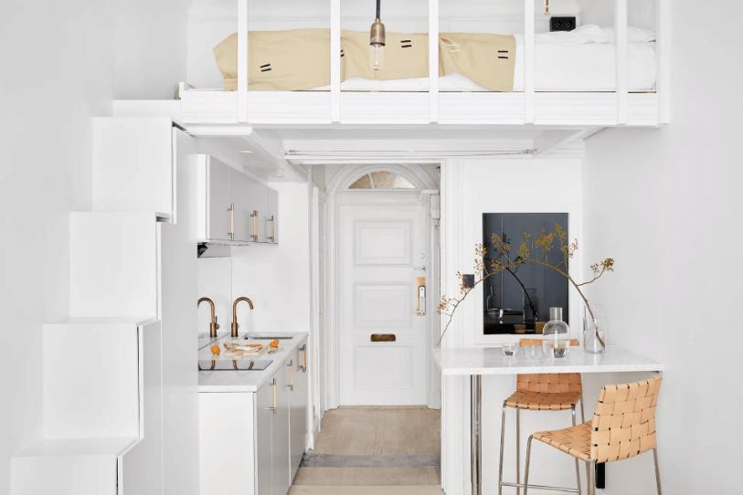 tiny new york apartments layout