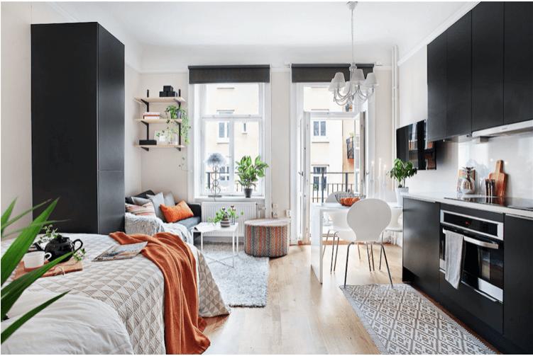 Tiny New York Apartments 6 Studio Apartment Decorating Ideas
