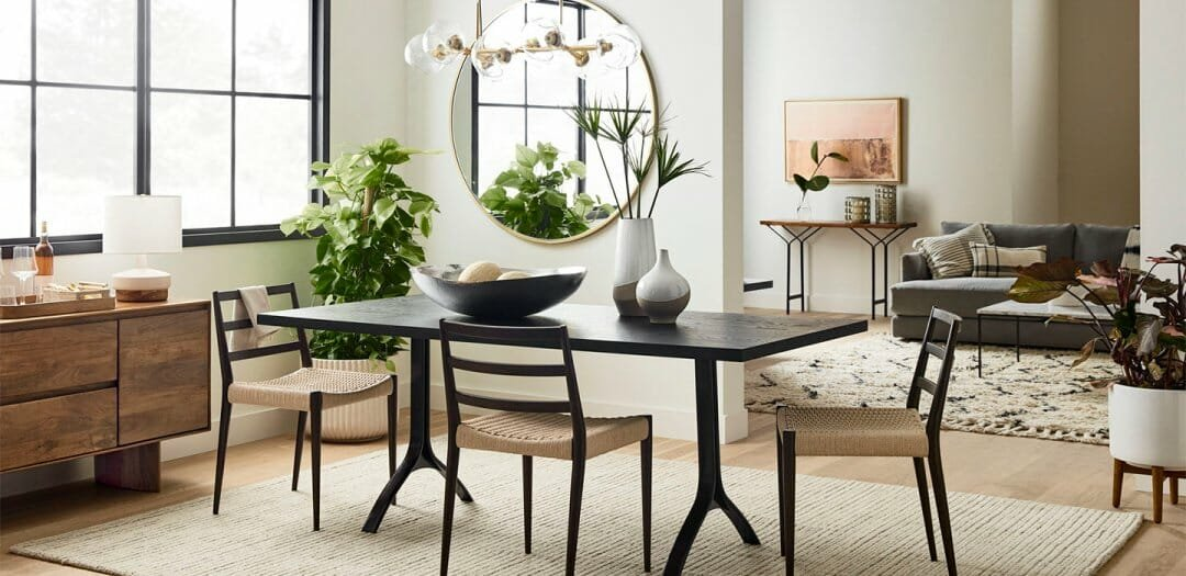west elm dining room furniture