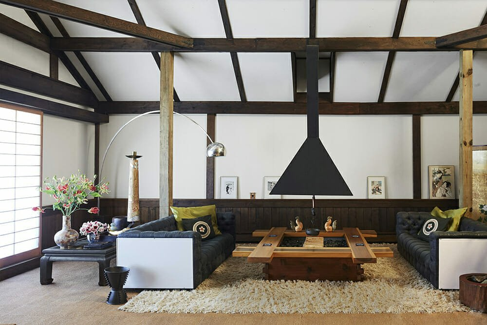 Asian inspired living room layout ideas