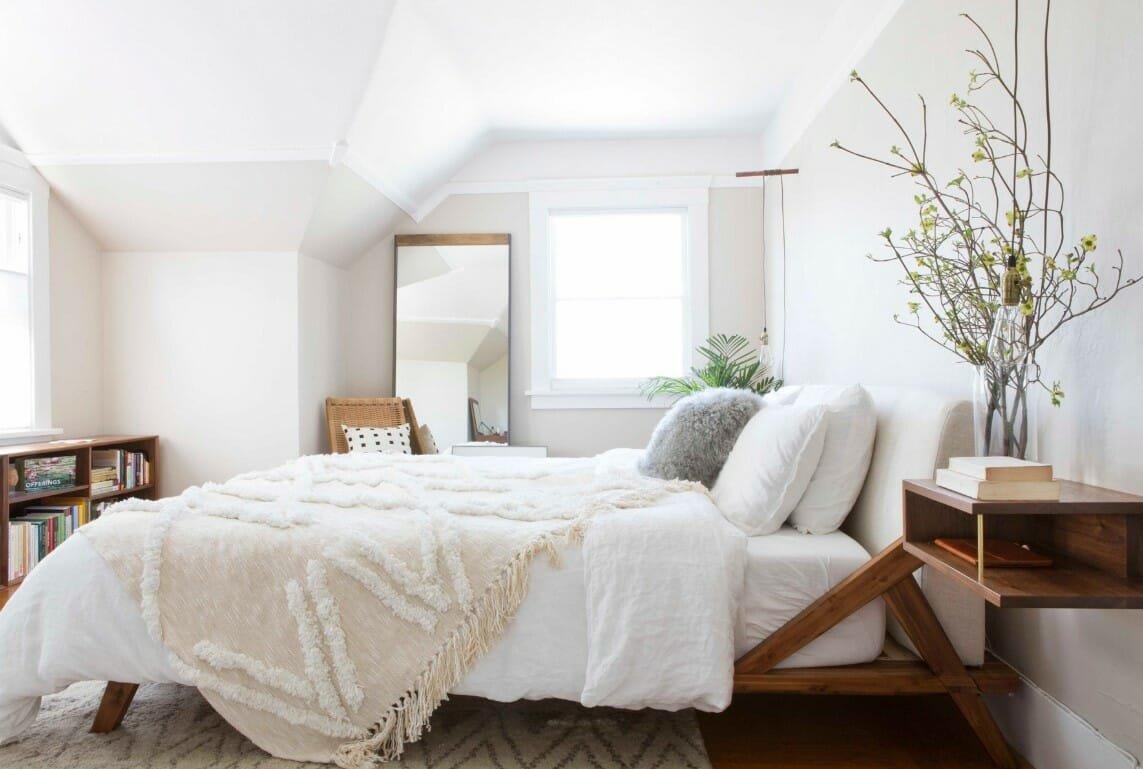 Bedroom layout ideas that increases sleep efficiency
