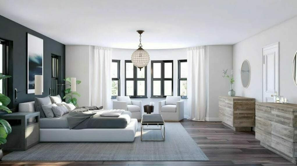 How to work with an interior designer online to create a Luxurious grey bedroom