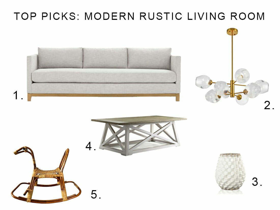 Modern Rustic Decor Favorites