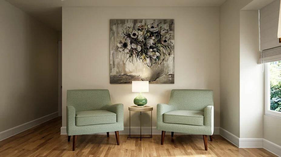 Bedroom online interior design sitting nook