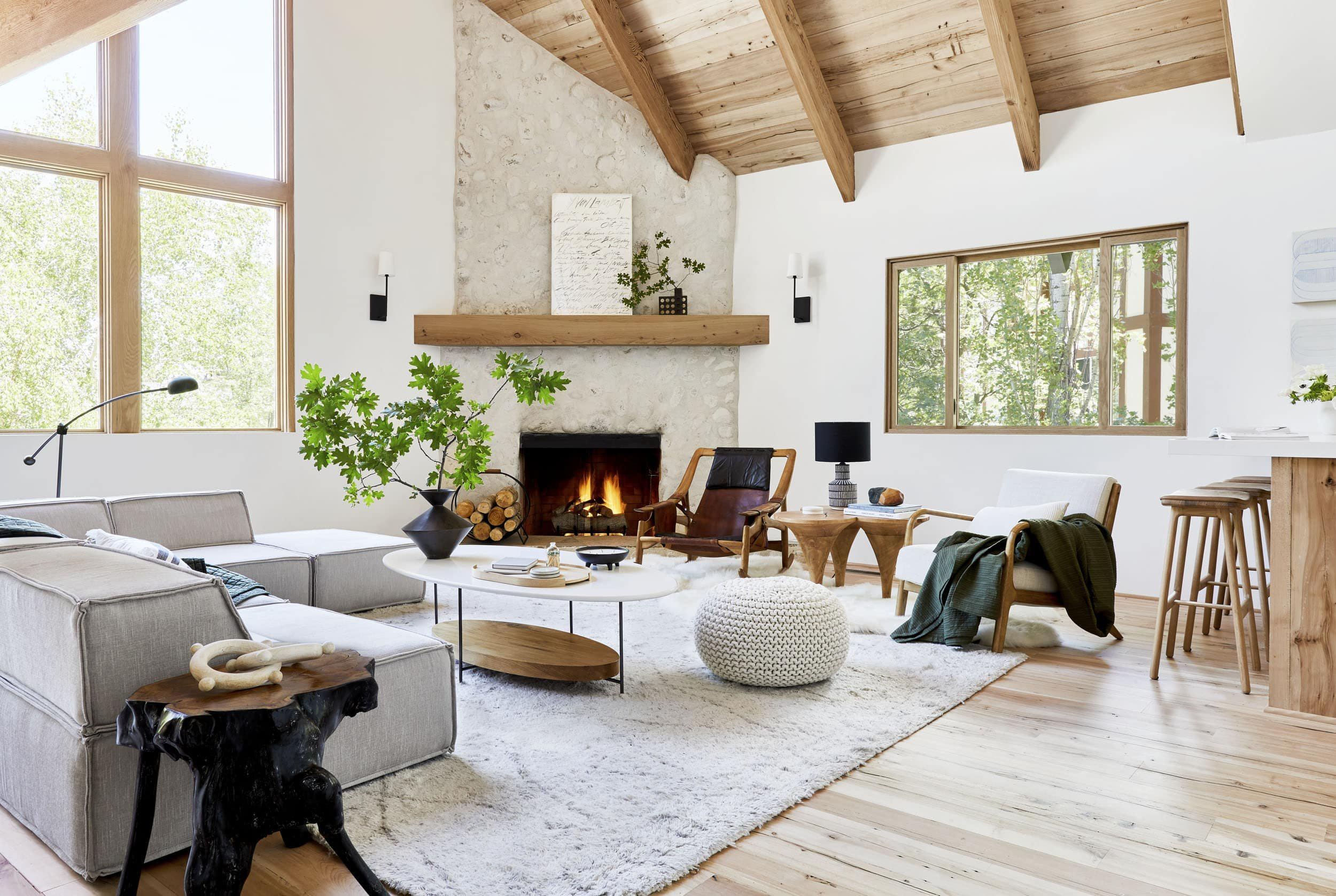 Interior Stylist Emily Henderson mountain house design