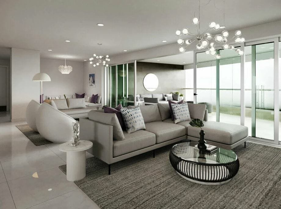 Luxurious condo interior design ideas