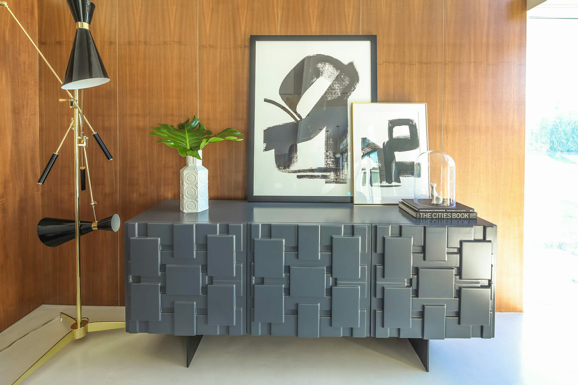 Mid Century Interior Design Styling by Michelle B.