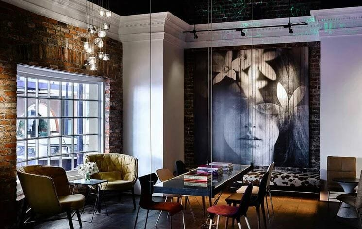 a cafe design by an interior stylist near me online