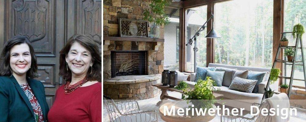Atlanta interior decorators and designers, Meriwether Design Group