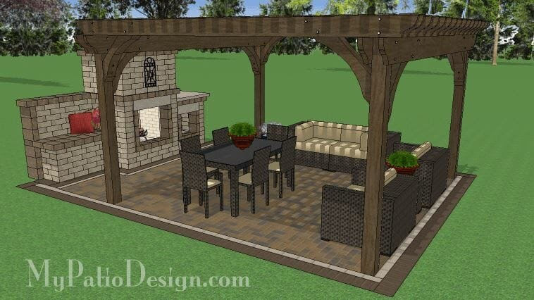 Design your patio online with a downloadable patio plan
