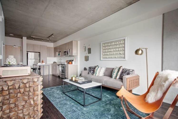 Scandinavian decor in a modern apartment by Sarah O