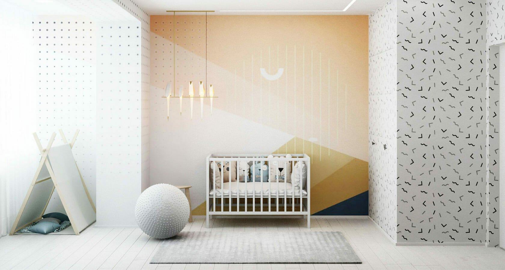 Scandinavian nursery decor by Margaryta S