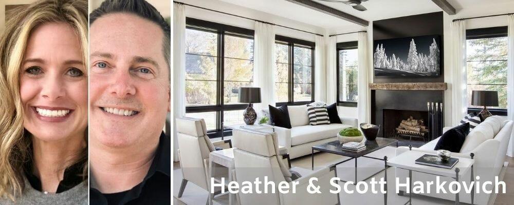Top Austin Interior Designers Scott & Heather Harkovich