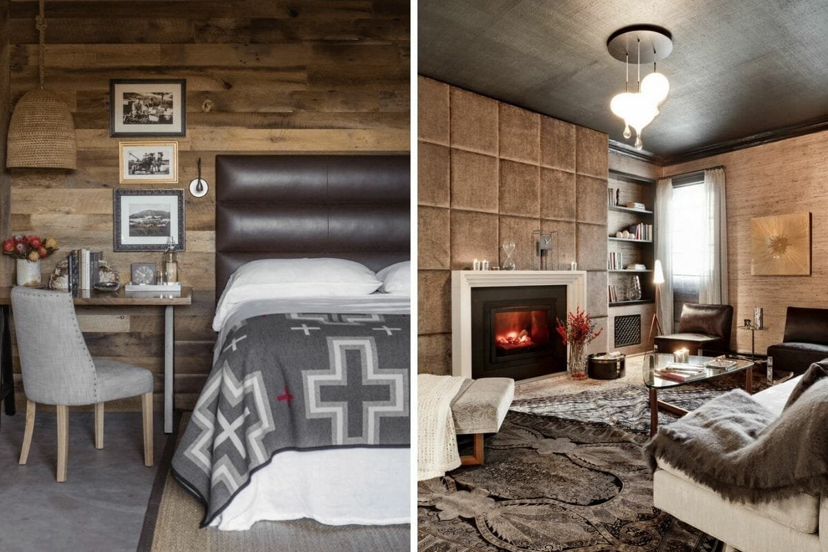 Updated cabin interior ideas for a more modern design