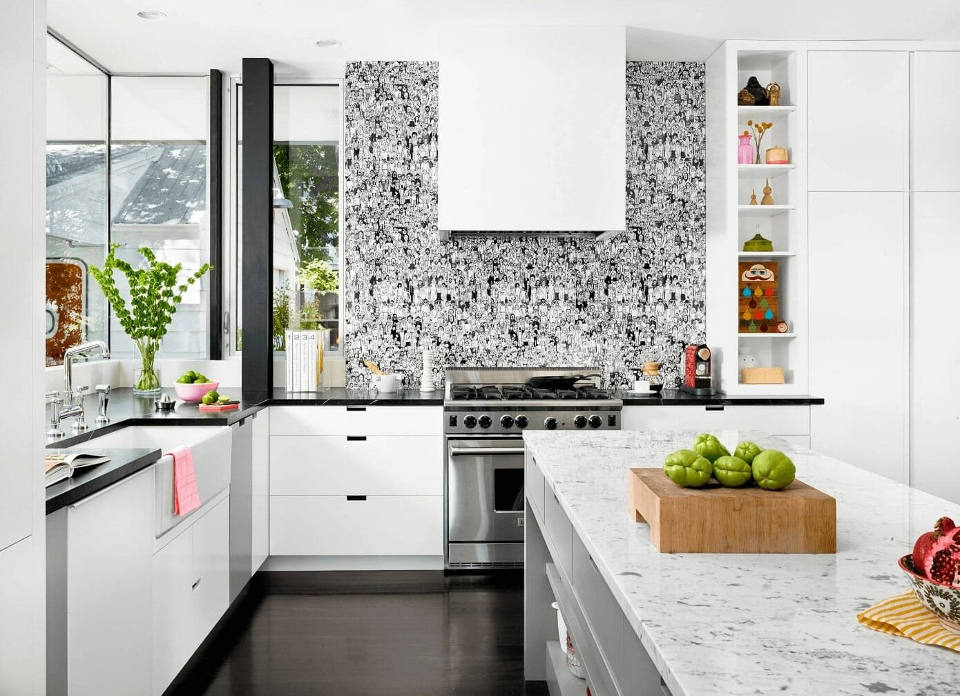 Backsplash wallpaper ideas for the kitchen