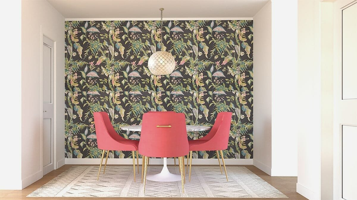 Botanical Breakfast Nook Wallpaper - Jessica S