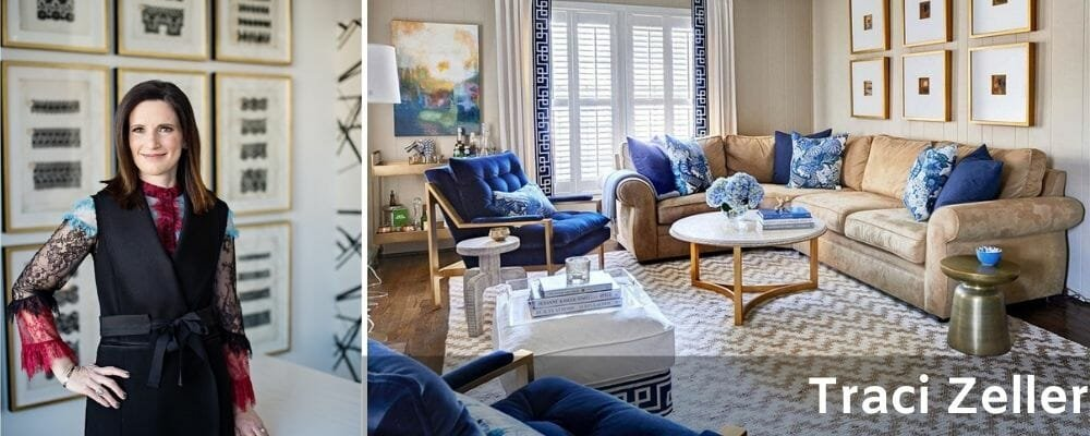 Charlotte interior designer - Traci Zeller