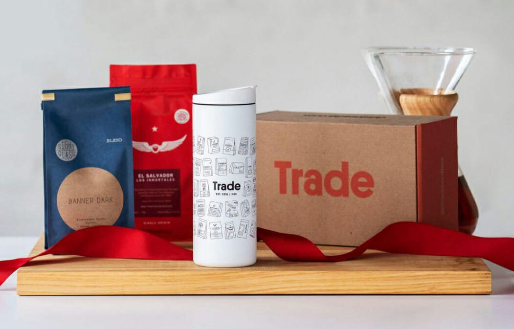 Curated coffee boxes by DrinksTrade gift cards for birthdays, Father's Day and Mother's Day