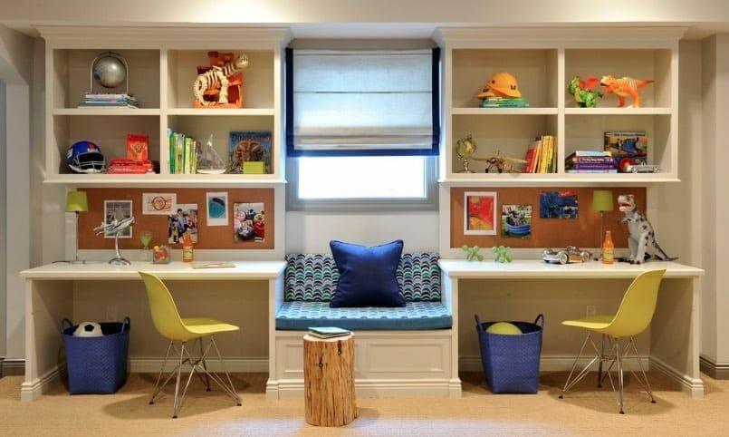 Custom desks for kids study space