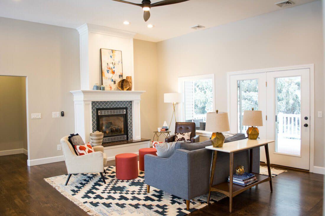 Eclectic living room by SBD - best e gift cards