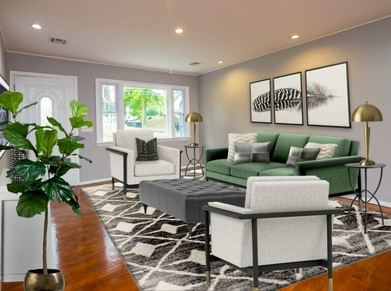 Home staging visualization by Northern Lights - ideas and gift cards for mother's day