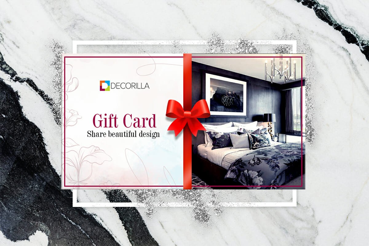 Interior design makes for one of the best gift card ideas