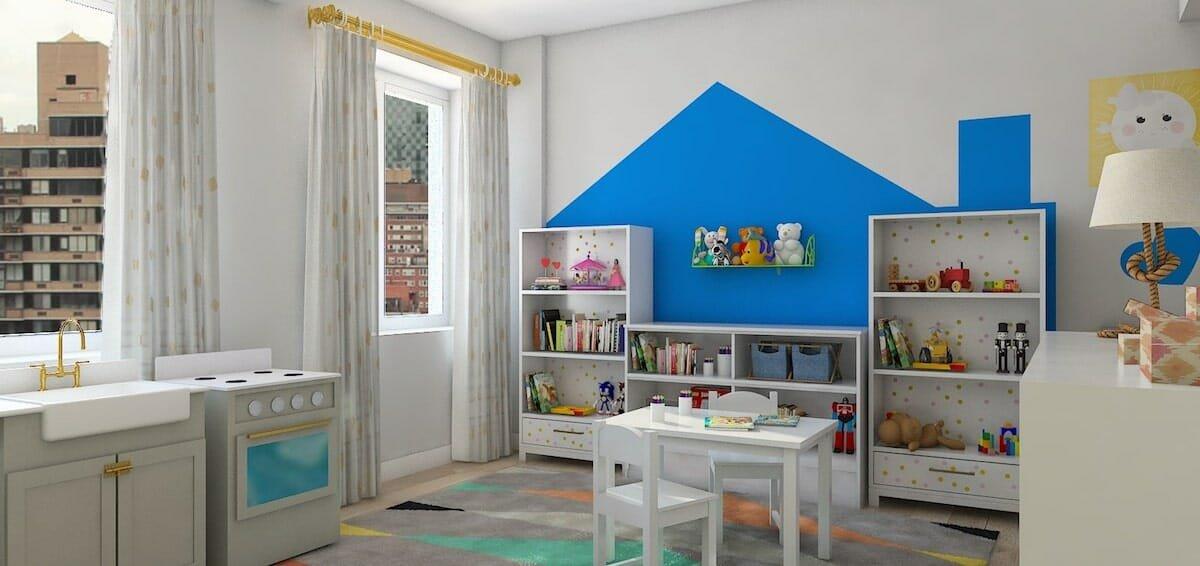 Kid's Playroom Interior Design Lindsay B
