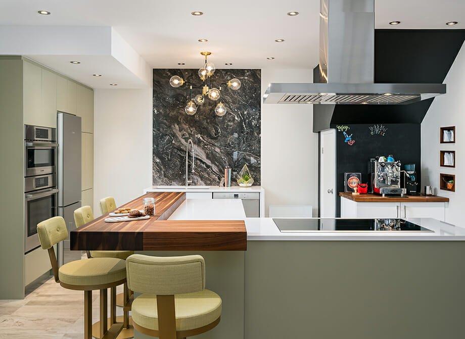 Kitchen interior design by Tracy - interior design gift certificate idea